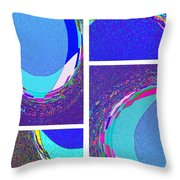 Abstract Fusion 178 Throw Pillow