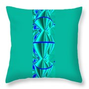 Abstract Fusion 182 Throw Pillow by Will Borden