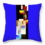 Abstract Fusion 185 Throw Pillow by Will Borden