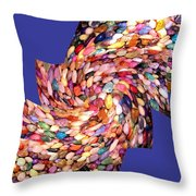 Abstract Fusion 189 Throw Pillow