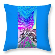 Abstract Fusion 196 Throw Pillow by Will Borden