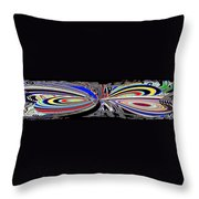 Abstract Fusion 197 Throw Pillow