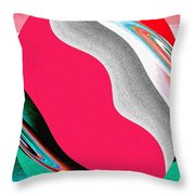 Abstract Fusion 208 Throw Pillow