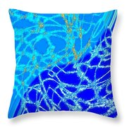 Abstract Fusion 224 Throw Pillow