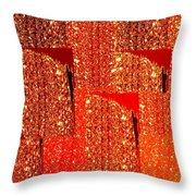 Abstract Fusion 228 Throw Pillow