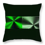 Abstract Fusion 253 Throw Pillow
