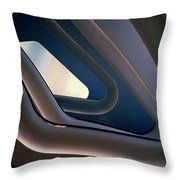 Abstract Future Throw Pillow