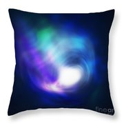 Abstract Galaxy Throw Pillow