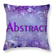 Abstract Gallery Cover Throw Pillow by Donna Proctor