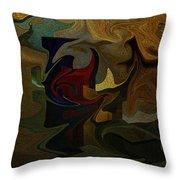 Geometries Throw Pillow