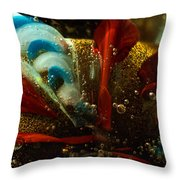Abstract Glass Throw Pillow