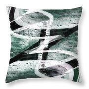 Abstract Graffiti 10 Throw Pillow