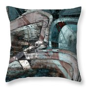 Abstract Graffiti 9 Throw Pillow