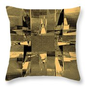 Abstract Halftone  Throw Pillow