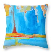 Abstract II Throw Pillow by Patricia Awapara