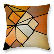 Abstract Impossible Warm Figure Throw Pillow