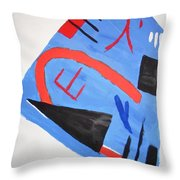 Abstract In Japanese Style Throw Pillow