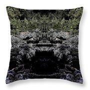 Abstract Kingdom Throw Pillow
