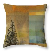 Abstract Landscape One Throw Pillow