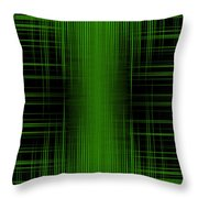 Abstract Lines 1 Throw Pillow