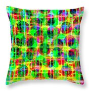 Abstract Lines 16 Throw Pillow