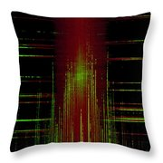 Abstract Lines 2 Throw Pillow