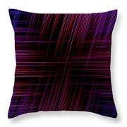 Abstract Lines 3 Throw Pillow