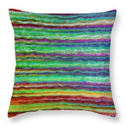 Abstract Lines 5 Throw Pillow