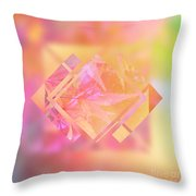 Abstract Maple Leaf Magic 3 Throw Pillow