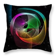 Abstract  Throw Pillow by Mark Ashkenazi