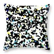 Abstract Mat Throw Pillow