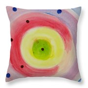 Abstract Matter Throw Pillow