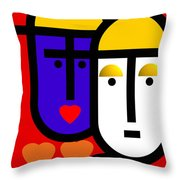 Abstract Modern Throw Pillow