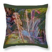 Abstract Nature 9 Throw Pillow