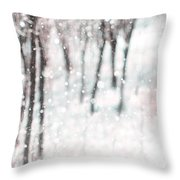 Abstract Nature Background Throw Pillow