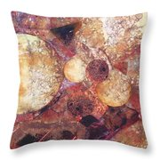 Abstract Naturescape Throw Pillow