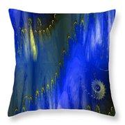 Abstract Nautilus Throw Pillow