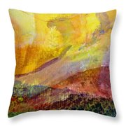 Abstract No. 3 Throw Pillow