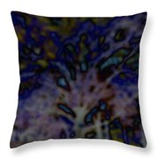 Abstract Of A Tree Throw Pillow