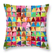 Abstract Of Colors  Throw Pillow