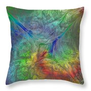 Abstract Of Dreams Throw Pillow