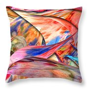 Abstract - Paper - Origami Throw Pillow