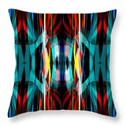 Abstract Pattern 3 Throw Pillow