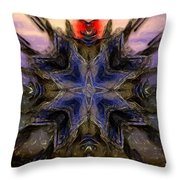 Abstract Perception Throw Pillow