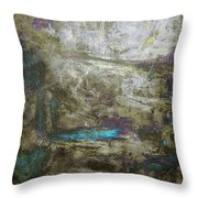 Abstract Print 13 Throw Pillow