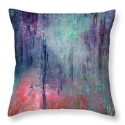 Abstract Print 25 Throw Pillow
