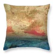 Abstract Print 3 Throw Pillow