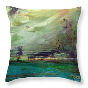 Abstract Print 4 Throw Pillow