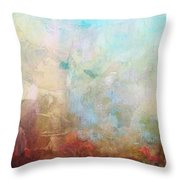 Abstract Print 6 Throw Pillow