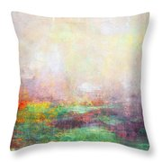 Abstract Print 8 Throw Pillow
